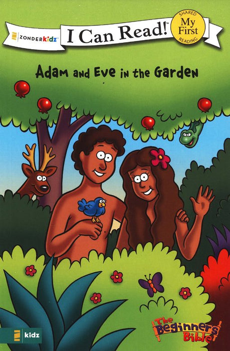 Adam and Eve in the Garden - I Can Read!