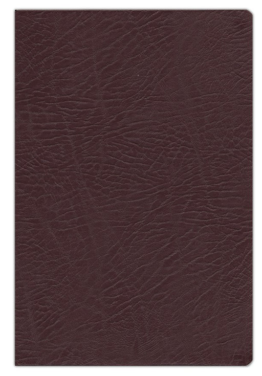 NKJV Full-Color Study Bible Burgundy Bonded Leather, Indexed