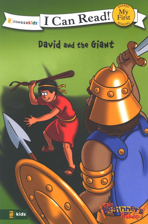 David and the Giant - I Can Read! Book