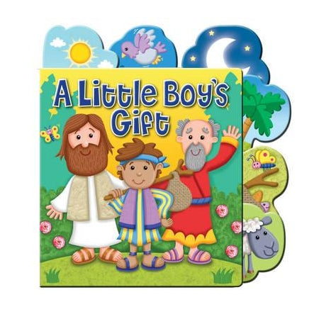 A Little Boy's Gift Tabbed Board Book