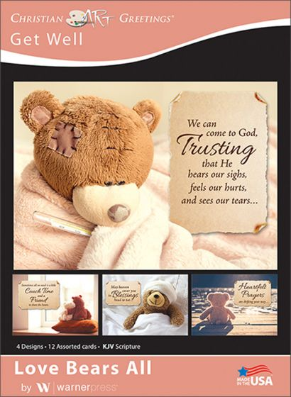 Boxed Cards - Loves Bears All - Get Well