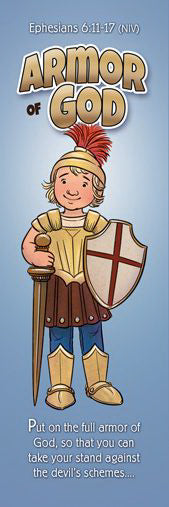 Bookmark Armor of God - Kids