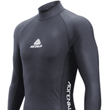 Adrenalin MULTI-ITEM 42213302   ~ RASHVEST MEN LONG SLEEVE BLACK New zealand nz vaughan
