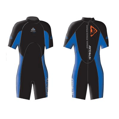 Adrenalin MULTI-ITEM 4222116    ~ AQUASPORT JNR SPRING SUIT BLUE New zealand nz vaughan