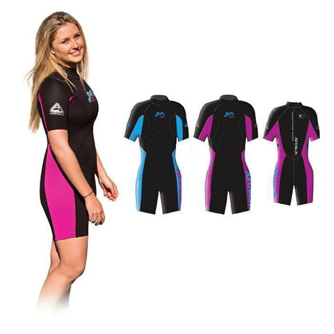 Adrenalin MULTI-ITEM 422318     ~ AQUASPORT LADY SPRING SUIT PINK New zealand nz vaughan