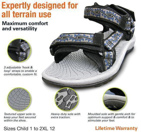 Adrenalin MULTI-ITEM 42712      ~ L&S SPORTS SANDALS New zealand nz vaughan