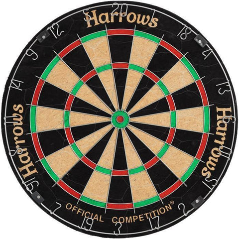Harrows G51057     ~ HARROWS [CN] BRISTLE DARTBOARD New zealand nz vaughan
