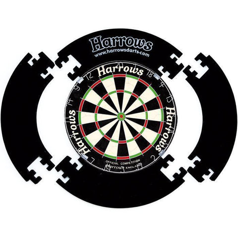 Harrows G5109      ~ HARROWS DARTBOARD SURR BLK New zealand nz vaughan