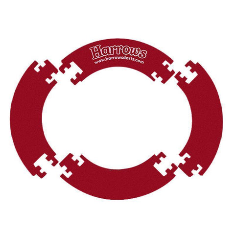 Harrows G51091     ~ HARROWS DARTBOARD SURR RED New zealand nz vaughan