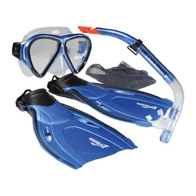 Land & Sea MULTI-ITEM 421164     ~ DOLPHIN SNORKELING SET New zealand nz vaughan