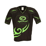 Optimum MULTI-ITEM 700903     ~ OPTIMUM TRIBAL TOP BLACK/GREEN New zealand nz vaughan
