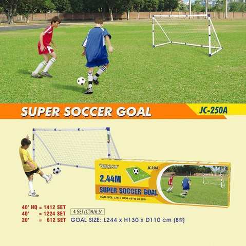 Outdoor Play 85647      ~ SUPER SOCCER GOAL JC-250A New zealand nz vaughan