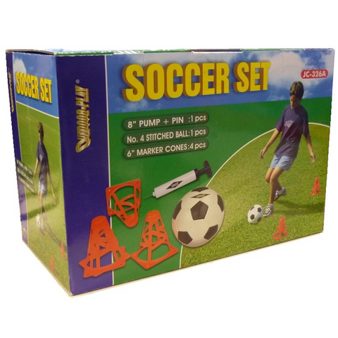 Outdoor Play 856477     ~ OUTDOOR PLAY SOCCER SET 326A