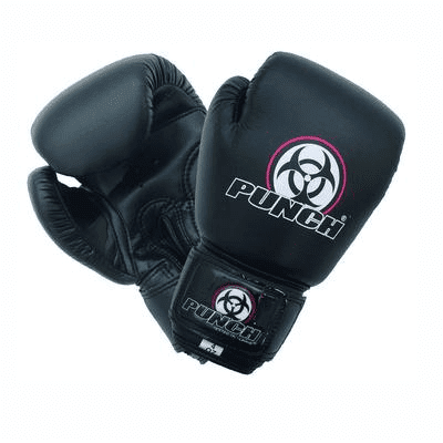Punch Equipment 901106     ~ URBAN JNR BOXING GLOVE 6oz BLK New zealand nz vaughan