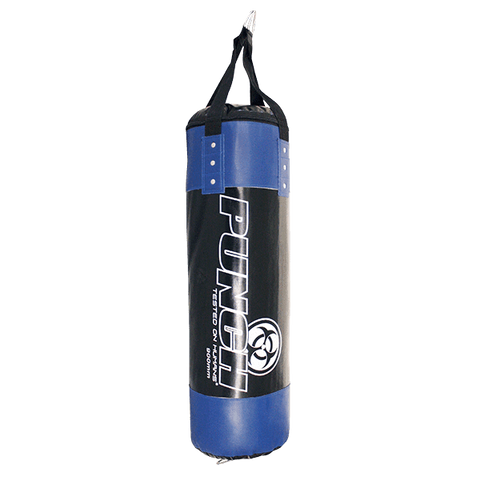 Punch Equipment 908013     ~ URBAN BOXING BAG 90X30 BLK/BLU New zealand nz vaughan