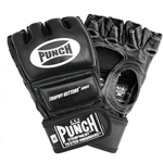 Punch Equipment MULTI-ITEM 900414     ~ FINGERLESS MITTS LEATHER BLACK New zealand nz vaughan