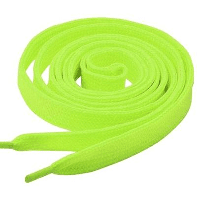 Tiger 8479983    ~ TIGER  LACES 110CM NEON YELLOW New zealand nz vaughan