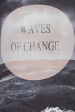 "Bluza gravide ""Waves of change"" Mamalicious, gri"