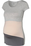Tricou gravide/alaptare Bellybutton, multicolor, marimea 2XL