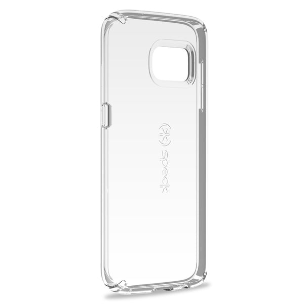 Husa Samsung Galaxy S7 Clear Military-Grade Protection Speck, transparenta, 14.2 cm inaltime