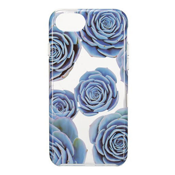Husa Blue Rose iPhone 6/6s/7 Kapsule, transprenta, 14.1 cm inaltime