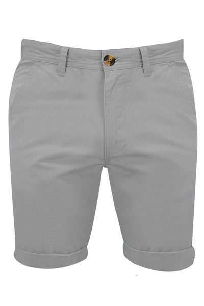 Pantaloni scurti bumbac The Stallion London barbati, gri, marimea W34 UK