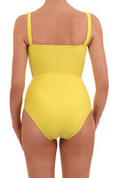 Costum de baie intreg dama Thetys Collection, galben, marimea S
