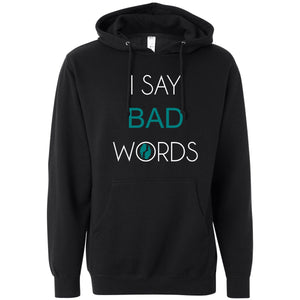 Flip'em the Bird | I say bad words pullover
