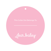 Load image into Gallery viewer, Birthday Girl Collar Dot Back