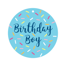 Load image into Gallery viewer, Birthday Boy Collar Dot Front