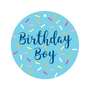 Birthday Boy Collar Dot Front