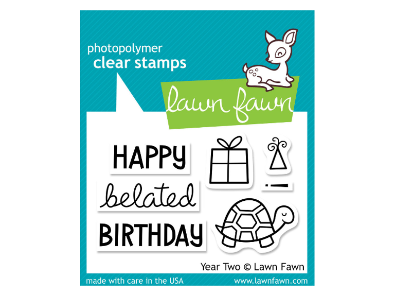 Lawn Fawn Year Two Cling Stamp Set