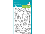 Lawn Fawn Critters in the Arctic Cling Stamp Set