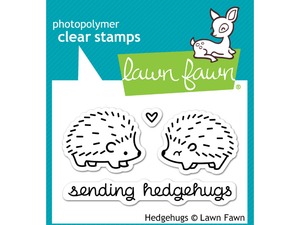 Lawn Fawn Hedge Hugs Cling Stamp Set