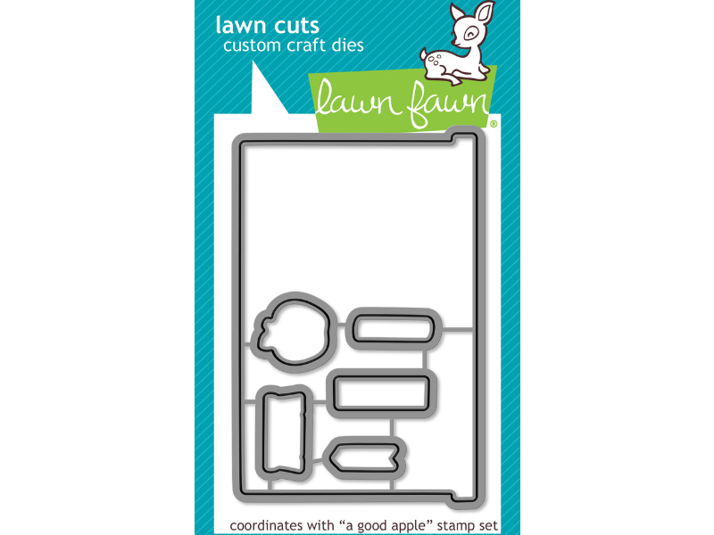 Lawn Fawn A Good Apple Lawn Cut