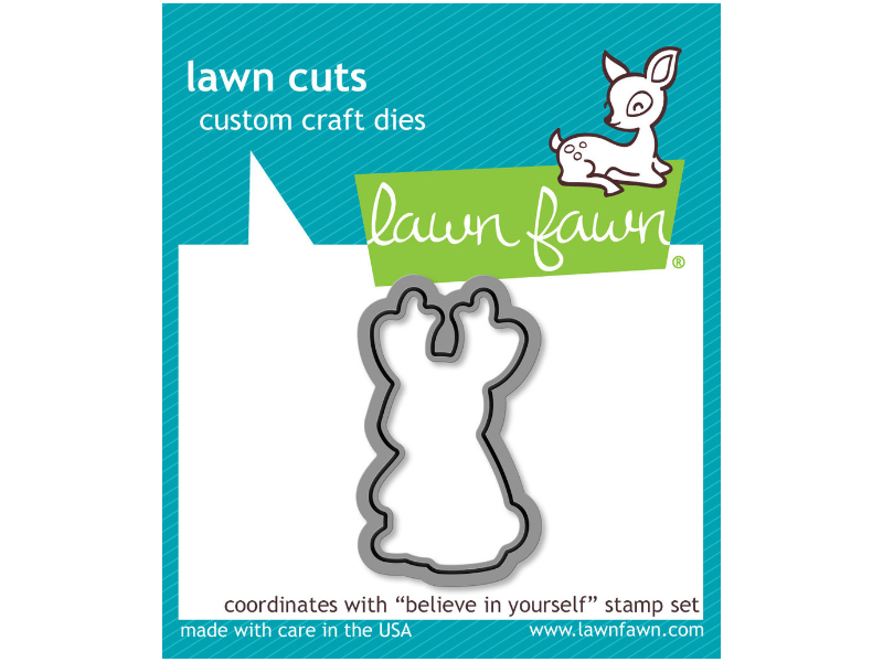 Lawn Fawn Believe in Yourself - lawn cuts