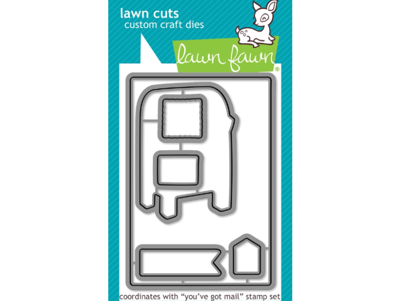 Lawn Fawn You've Got Mail Lawn Cuts