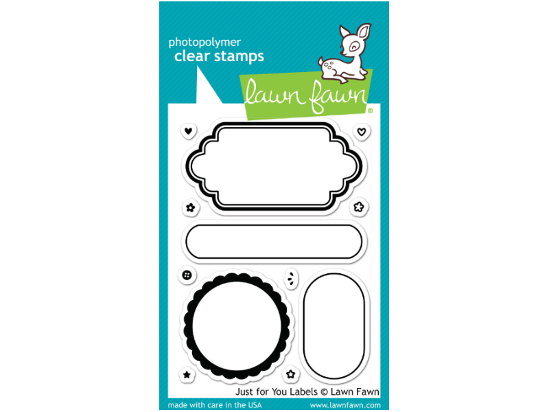 Lawn Fawn Just For you Labels