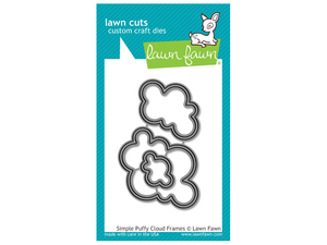 "Lawn Fawn Simple ""Puffy Cloud"" Frames Lawn Cuts"