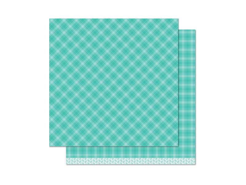 Lawn Fawn Perfectly Plaid Fall 12 x 12 Cardstock