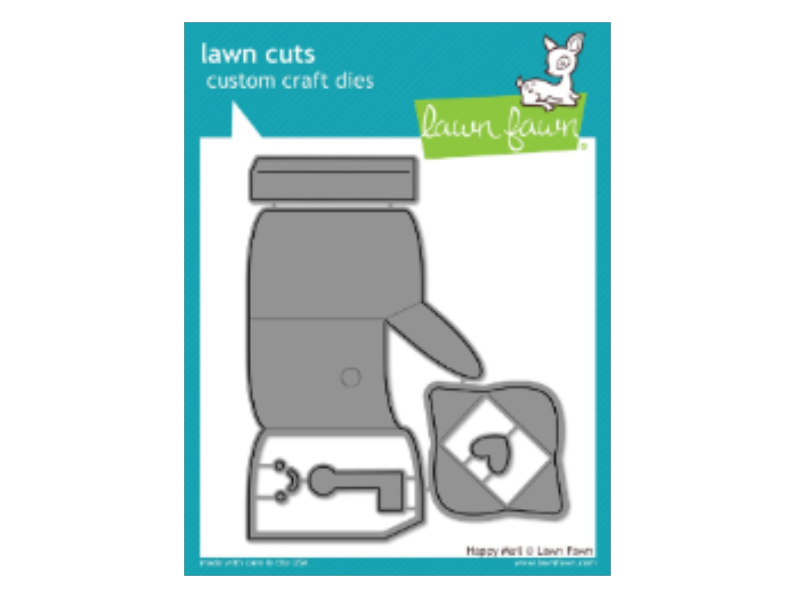 Lawn Fawn Happy Mail Lawn Cuts