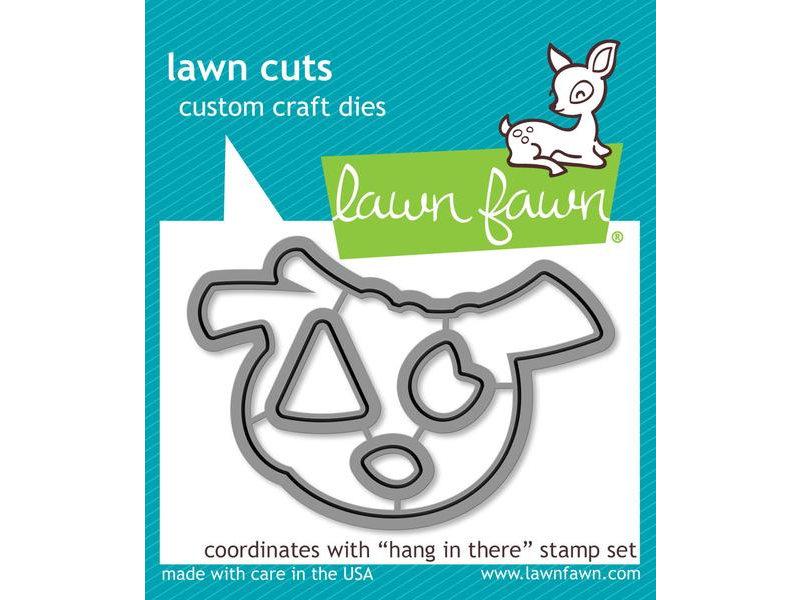 "Lawn Fawn ""Hang in There"" Lawn Cuts"