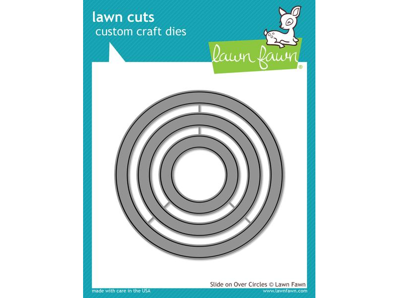 Lawn Fawn Slide on Over Circles Lawn Cuts