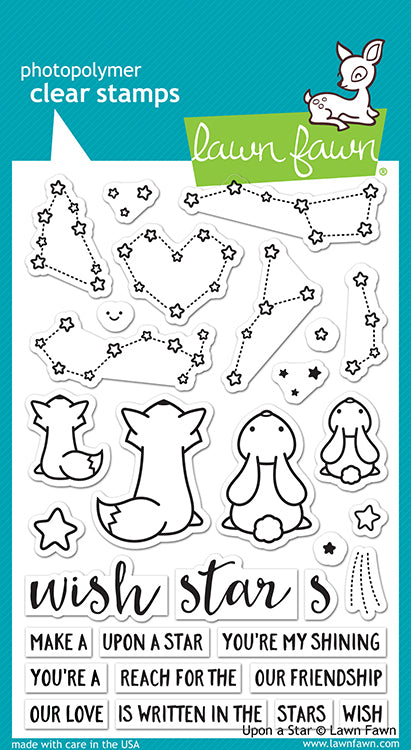 Lawn Fawn Upon A Star Cling Stamp Set