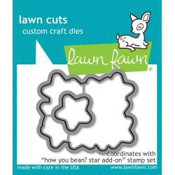 Lawn Fawn How You Bean? Star Add-On Lawn Cuts