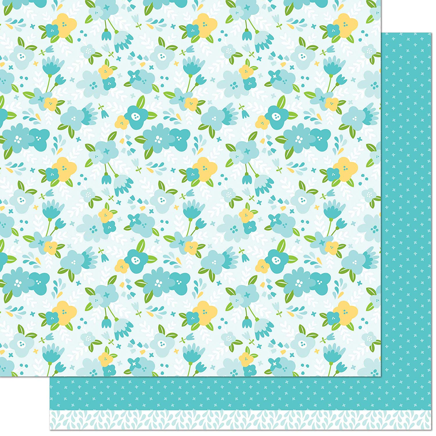 Lawn Fawn Julia 12x12 Patterned Paper (Pack of 12)