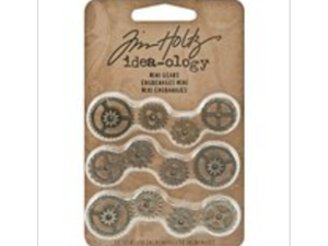 Tim Holtz Idea-ology, Metal Mini Gears
