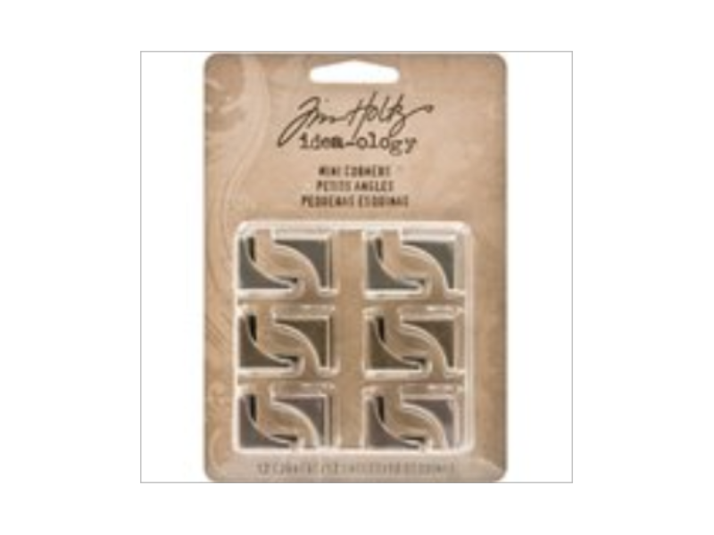 Tim Holtz Idea-ology, Mini Metal Corners