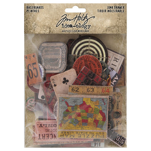 Tim Holtz Ideaology Baseboard Junk Drawer