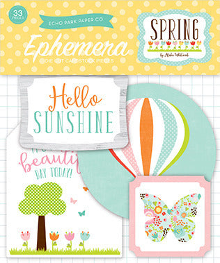Echo Park Spring Collection Ephemera Package